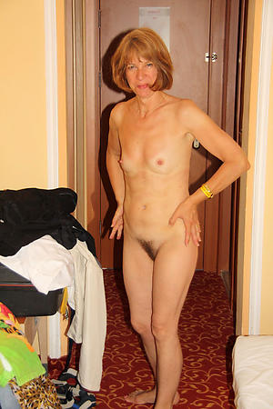 Naked old women with small boobs