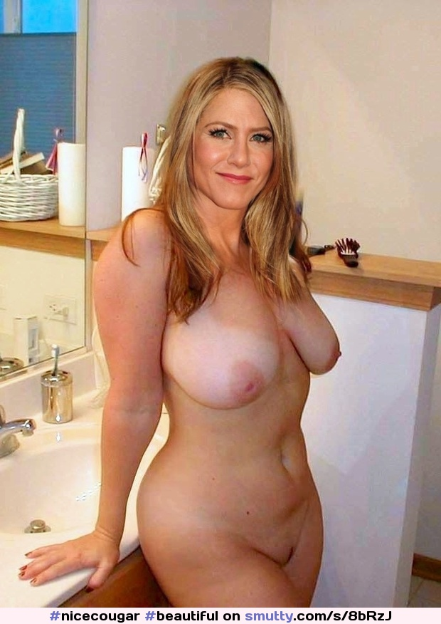 Mature solid nude